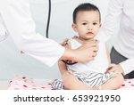 selective focus professional... | Shutterstock . vector #653921950