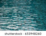 Surface Of The Swimming Pool....