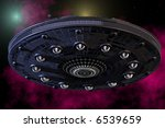 unidentified flying object from ... | Shutterstock . vector #6539659