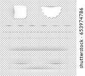 dividers gradient mesh  vector... | Shutterstock .eps vector #653974786
