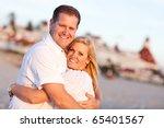 Attractive Caucasian Couple...