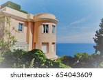 cap d'ail  france | Shutterstock . vector #654043609