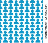 pattern background user human...   Shutterstock .eps vector #654052534