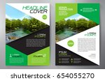 business brochure. flyer design.... | Shutterstock .eps vector #654055270