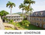 antigua  caribbean islands ... | Shutterstock . vector #654059638