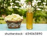 Homemade Elderflower Syrup In ...