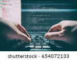 coding code program programming ... | Shutterstock . vector #654072133