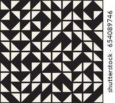 vector random shapes seamless... | Shutterstock .eps vector #654089746