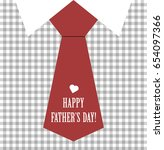 happy father's day vector  | Shutterstock .eps vector #654097366
