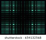 cyan overlapping rectangles... | Shutterstock .eps vector #654132568