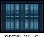 overlapping rectangles... | Shutterstock .eps vector #654132598