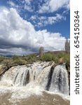 muradiye waterfall at van city | Shutterstock . vector #654150364
