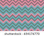 seamless wavy lines background. ... | Shutterstock .eps vector #654176770