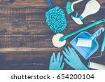 cleaning tool | Shutterstock . vector #654200104