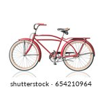 Retro Vintage Red Bicycle...