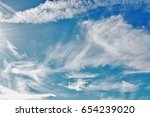 today clear sky  have morale at ... | Shutterstock . vector #654239020