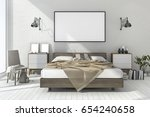 3d rendering vintage minimal... | Shutterstock . vector #654240658