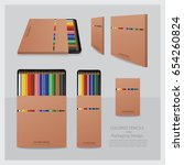 color pencils with packaging