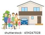 relationship of good family | Shutterstock .eps vector #654267028