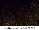glitter texture christmas... | Shutterstock . vector #654274750
