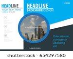 abstract vector modern brochure ...   Shutterstock .eps vector #654297580