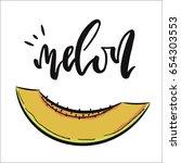 vector hand drawn illustration. ... | Shutterstock .eps vector #654303553