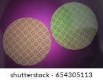 the semiconductor structures of ... | Shutterstock . vector #654305113