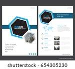 abstract vector modern flyers...   Shutterstock .eps vector #654305230