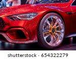 geneva  switzerland   march 8 ... | Shutterstock . vector #654322279