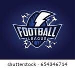 modern professional sports... | Shutterstock .eps vector #654346714