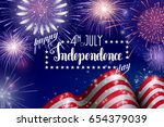 4th of july  american... | Shutterstock .eps vector #654379039