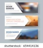 design of standard horizontal... | Shutterstock .eps vector #654414136