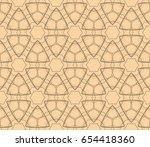 ornamental seamless pattern.... | Shutterstock .eps vector #654418360