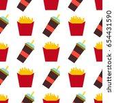 vector seamless pattern fast... | Shutterstock .eps vector #654431590