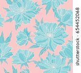 elegance seamless pattern with... | Shutterstock .eps vector #654452068