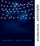 glowing light bulbs design | Shutterstock .eps vector #654453850