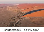view from a helicopter of the... | Shutterstock . vector #654475864