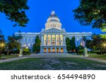 the california state capitol in ... | Shutterstock . vector #654494890