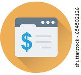 online banking vector icon    Shutterstock .eps vector #654502126