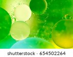 closeup of oil drops on the... | Shutterstock . vector #654502264