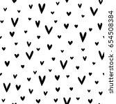 seamless vector pattern made of ... | Shutterstock .eps vector #654508384
