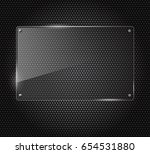 illustration of glass or... | Shutterstock . vector #654531880