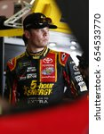 Small photo of June 02, 2017 - Dover, DE, USA: Erik Jones (77) hangs out in the garage prior to practice for the AAA 400 Drive for Autism at Dover International Speedway in Dover, DE.