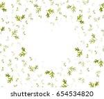 watercolor painting irregular... | Shutterstock . vector #654534820