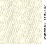 Abstract Geometric  Hexagonal...
