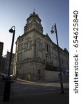 Small photo of DERELICT CO OPERATIVE BUILDING IN DEWSBURY TOWN CENTRE, WEST YORKSHIRE, UK, 27TH FEBRUARY 2008
