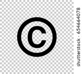 Copyright Symbol Isolated On...