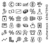investment icons set. set of 36 ...   Shutterstock .eps vector #654675943