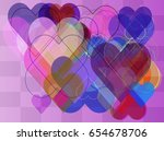 love idea vector | Shutterstock .eps vector #654678706