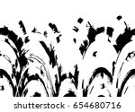 grunge black and white urban... | Shutterstock .eps vector #654680716
